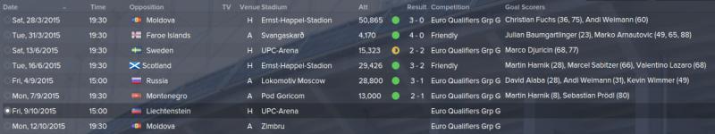 national fixtures